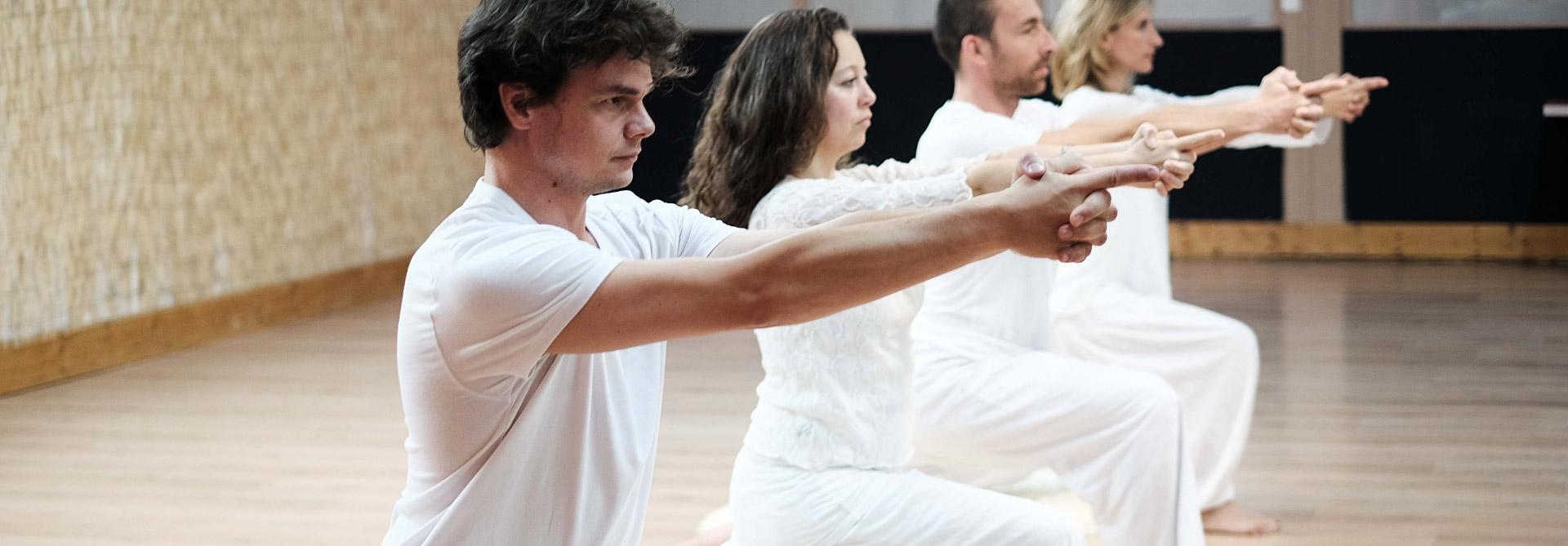 Matériel de yoga sur bordeaux