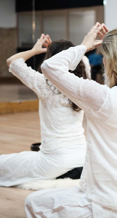 Tapis de yoga, coussin de yoga